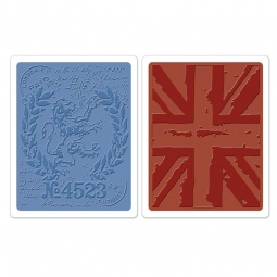 фото Набор форм для эмбоссирования Sizzix Textured Impressions Знаки Лондона
