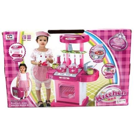 Купить Кухня детская с аксессуарами Shantou Gepai 008-58