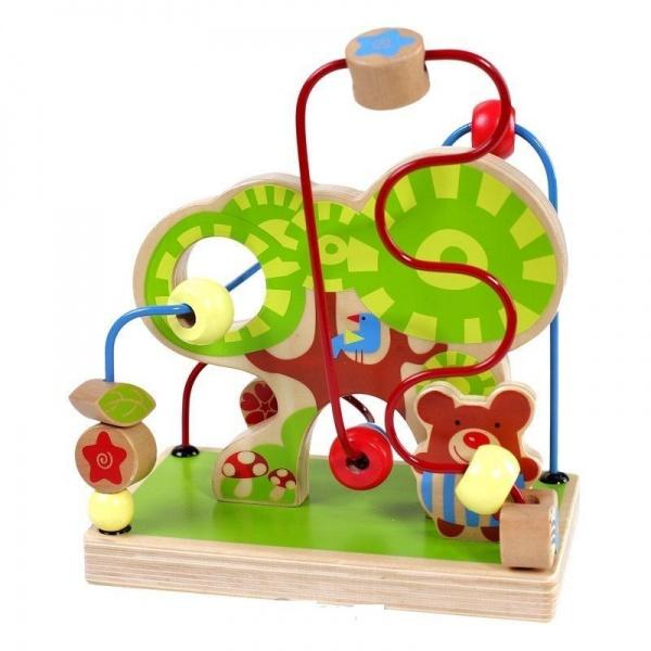 Лабиринт деревянный Toys Lab «Лес» головоломки toys lab деревянный лабиринт веселая ферма