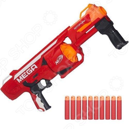Бластер Hasbro «Мега Берсеркер» оружие игрушечное hasbro hasbro бластер nerf n strike mega rotofury