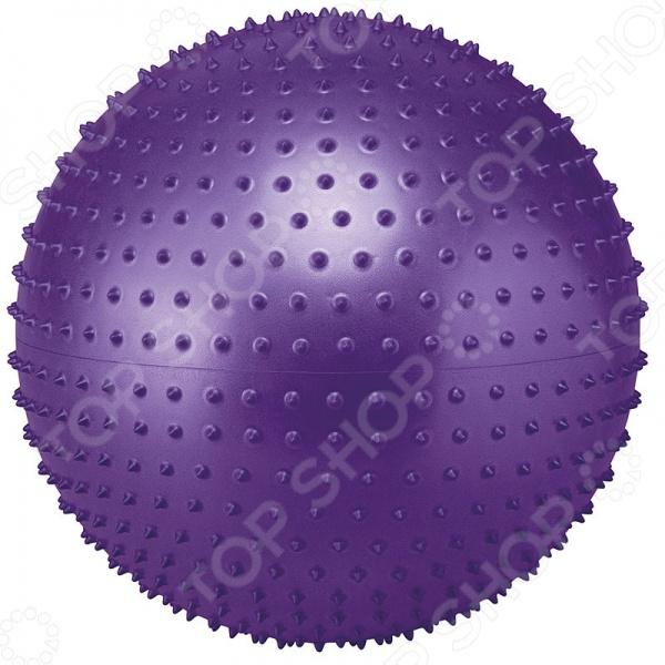 Мяч массажный с насосом GB02. В ассортименте