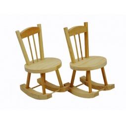 Купить Заготовка из дерева для росписи RTO «Два кресла-качалки»