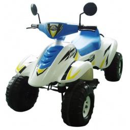 фото Квадроцикл детский электрический Пламенный Мотор «Бич Рейсер». Цвет: синий