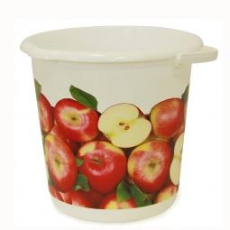 фото Ведро IDEA «Деко. Яблоки». Объем: 10 л