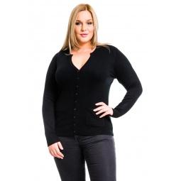 фото Жакет Mondigo XL 9786. Цвет: черный. Размер одежды: 48