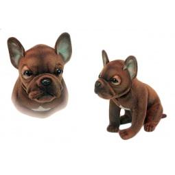 Купить Мягкая игрушка Hansa «Щенок французского бульдога»