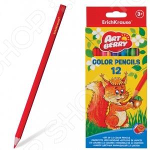 Набор карандашей цветных Erich Krause Artberry: 12 цветов