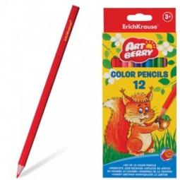 Купить Набор карандашей цветных Erich Krause Artberry: 12 цветов