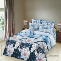 фото Комплект постельного белья Романтика «Ночной поцелуй». 1,5-спальный