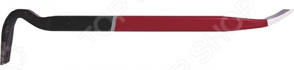 Лом-гвоздодер усиленный MATRIXГвоздодеры. Ломы<br>Лом-гвоздодер усиленный MATRIX инструмент, используемый во время строительных, монтажных и демонтажных работ. Конструкция изделия представлена прямоугольно-овальным профилем. Лом отлично подойдет для различных строительных конструкций, а также для извлечения гвоздей и скоб. Благодаря использованию высококачественной углеродистой стали марки Ст 50 твердость материала 42-44 HRC инструмент отличается надежностью и прочностью. Имеется специальное покрытие, предотвращающее появление коррозии и увеличивающее срок службы изделия.<br>