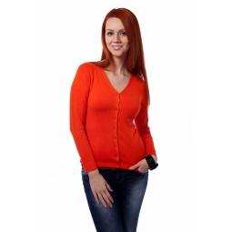 фото Жакет Mondigo 9130. Цвет: оранжевый. Размер одежды: 44