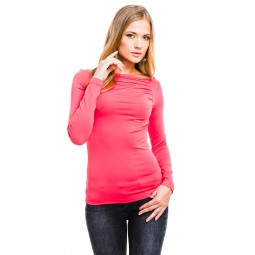 фото Кофта Mondigo 7012. Цвет: ярко-розовый. Размер одежды: 42