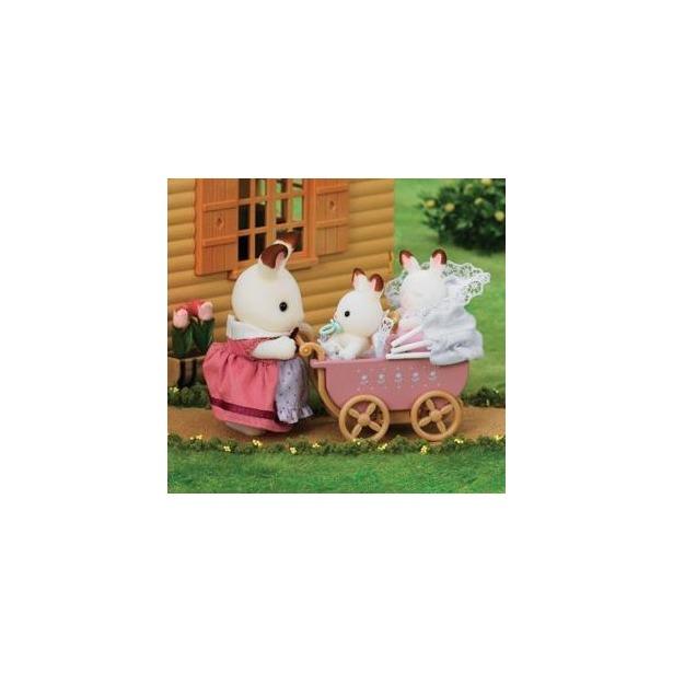 фото Набор игровой Sylvanian Families «Двойняшки в коляске»