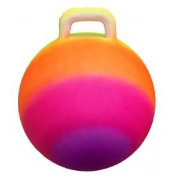 фото Мяч гимнастический Shantou Gepai «Радужный». Диаметр: 45 см