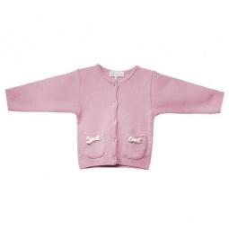 Купить Кардиган детский для девочек Katie Baby Flowers of Love. Цвет: серый