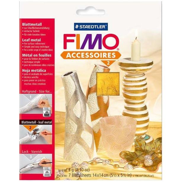 фото Фольга металлическая Fimo Easy metal 8780. Цвет: золотистый