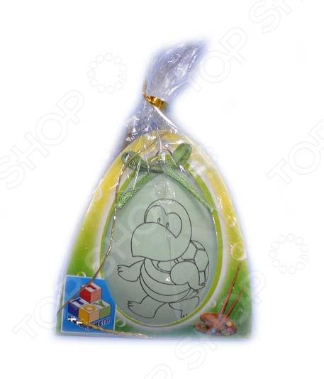 Раскраска 1 Toy «Пасхальное яйцо» Т58503 наборы для вышивания матренин посад набор для бисероплетения пасхальное яйцо пасха