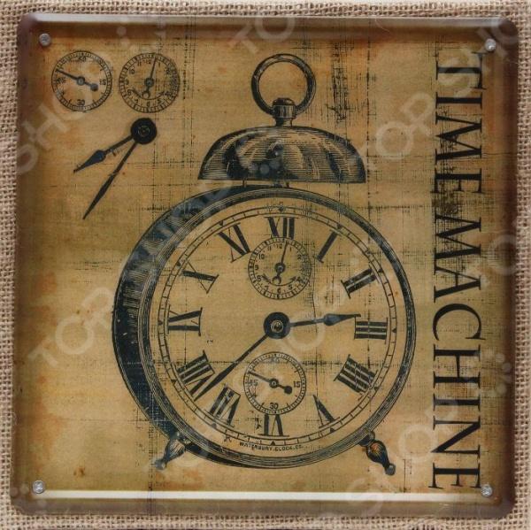 Картина на металле Феникс-Презент «Часы»Картины. Панно<br>Картина на металле Феникс-Презент Часы практичная и интересная картина, выполненная на металле. Помещена в рамку из дерева, которая обтянута дополнительно льном. На картине находится изображение будильника, которое всегда будет напоминать об уходящем времени. Выполнена картина, в уютных коричневых тонах. Такую картину можно будет разместить на кухне или украсить им внутреннее помещение собственной забегаловки или ресторанчика. Картина станет прекрасным и практичным подарком для близких.<br>