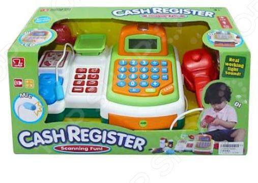 Игровой набор для девочки Shantou Gepai «Касса электронная. Мой магазин» 941412 игровой набор smoby 350107 электронная касса