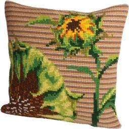 Купить Набор для вышивания подушки Collection D'art 5088