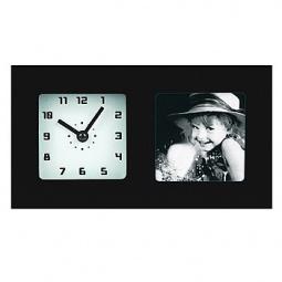 фото Часы с фоторамкой СТАРТ PHOTO. Цвет: черный