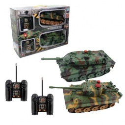 Купить Набор из 2-х танков радиоуправляемых 1 Toy с функцией ведения боя друг против друга