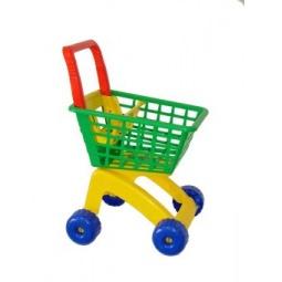 фото Тележка игрушечная Полесье для маркета. В ассортименте
