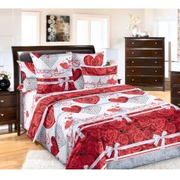 фото Комплект постельного белья Белиссимо «Комплимент». 2-спальный. Размер простыни: 220х240 см