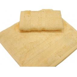 фото Полотенце TAC Bamboo elegance. Размер: 100х150 см. Цвет: желтый