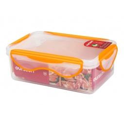 фото Контейнер для хранения продуктов Oursson Clip Fresh CP1100S. Цвет: оранжевый