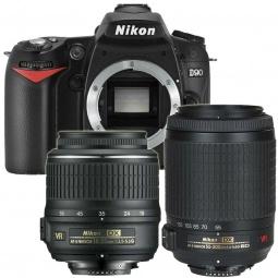 фото Фотокамера цифровая Nikon D90 Kit 18-55VR / 55-200VR