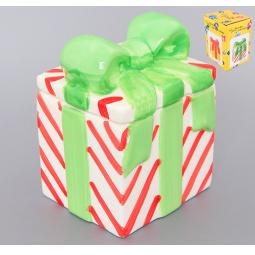 Купить Банка для чая и кофе Elan Gallery «Подарок полосатый»
