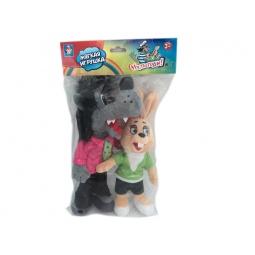 фото Набор плюшевых игрушек 1 Toy «Волк и Заяц» Т57374