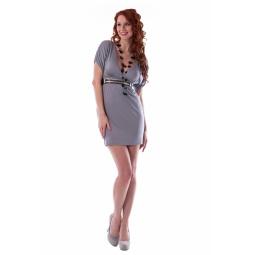 фото Платье Mondigo 8610. Цвет: серый. Размер одежды: 44