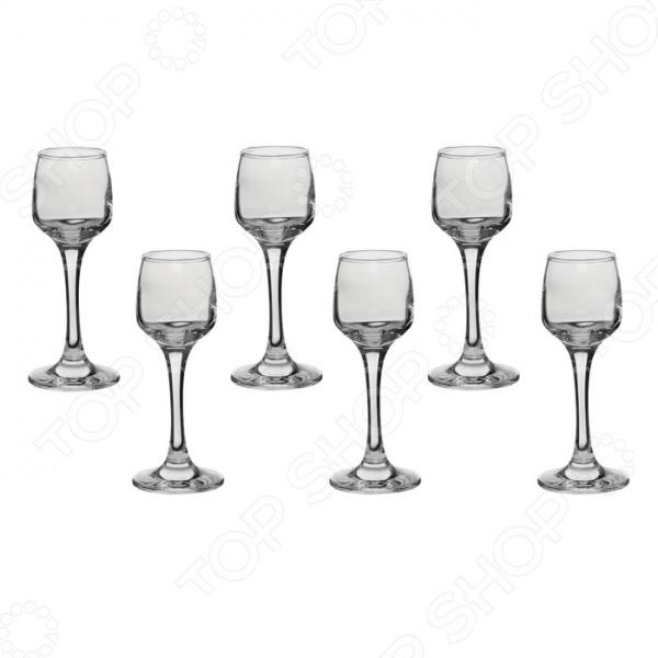 Набор стопок для ликера Pasabahce IsabellaРюмки. Стопки<br>Набор стопок для ликера Pasabahce Isabella состоит из шести стильных рюмок, которые идеально подойдут для подачи горячительных напитков высшей пробы. Эстетичность, функциональность и изящный дизайн сделают набор достойным дополнением к вашему кухонному инвентарю.<br>