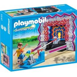 фото Конструктор игровой Playmobil «Парк Развлечений: Аттракцион - Сбей банки»