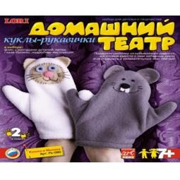 фото Набор для творчества LORI Кошка и Мышка