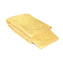фото Полотенце Tete-a-Tete махровое Т-МП-7185. Размер: 90х150 см. Цвет: желтый