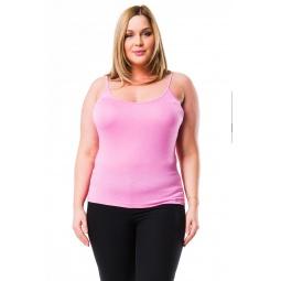 фото Майка Mondigo XL 9351. Цвет: темно-розовый. Размер одежды: 48