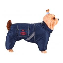 фото Комбинезон-дождевик для собак DEZZIE «Восточноевропейская овчарка». Пол: сука. Материал подкладки: флис