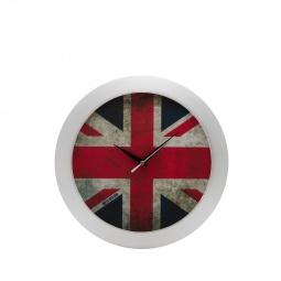 фото Часы настенные Mitya Veselkov «Потертый британский флаг»