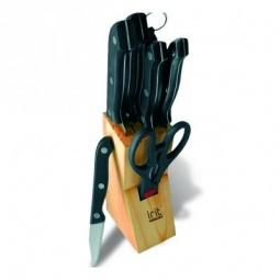 фото Набор ножей в деревянной подставке Irit IRH-501
