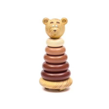 Купить Игрушка-пирамидка Томик «Медвежонок»