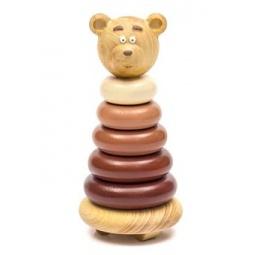 фото Игрушка-пирамидка Томик «Медвежонок»