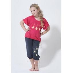 Купить Комлект одежды для дома BlackSpade 5123. Цвет: коралловый
