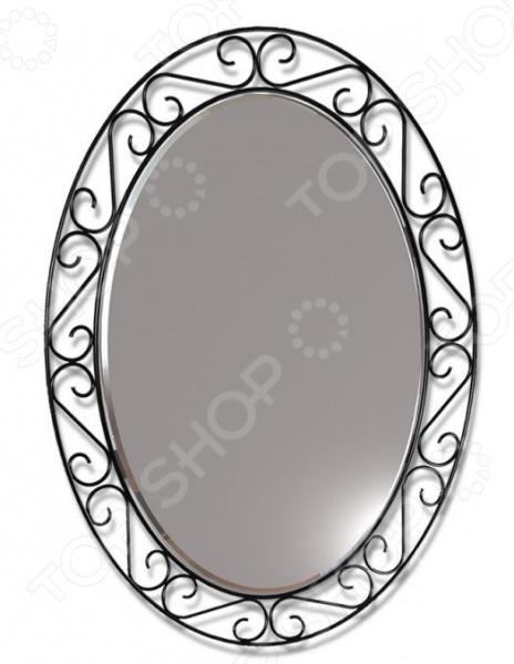 Зеркало настенное Sheffilton Грация 629 sheffilton зеркало sheffilton грация овальное 58х75 см черный dsgsapt