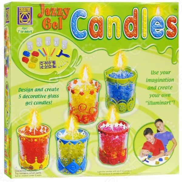 Набор для создания свечей Creative 5516 набор для творчества creative creative набор для творчества дизайнерские свечи стаканчики
