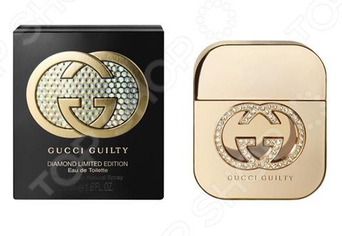 Туалетная вода для женщин Gucci Guilty Diamond, 50 мл gucci туалетная вода flora by gucci fraiche 75 ml