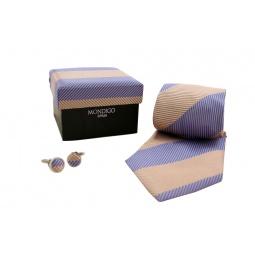 фото Набор подарочный: галстук, запонки, нагрудный платок Mondigo 43128