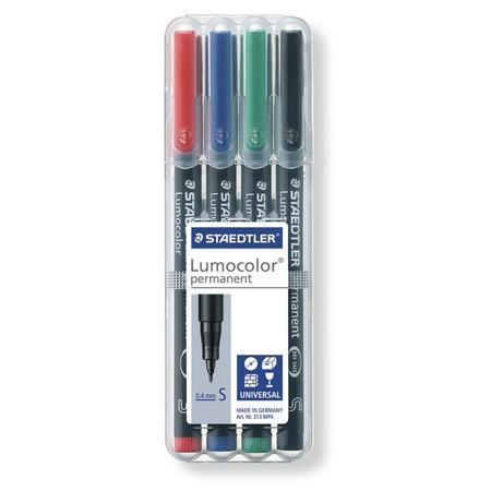 Купить Набор перманентных маркеров Staedtler 313WP4